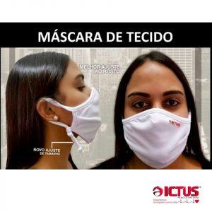 máscara tecido proteção em guarapuava paraná