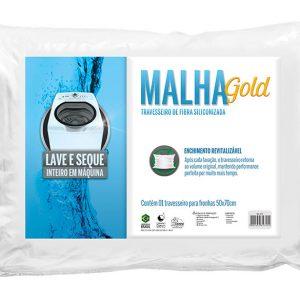travesseiro fibra siliconizada malha gold anti ácaro mofo guarapuava paraná