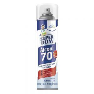 álcool 70 spray aerossol em guarapuava paraná