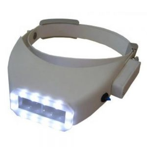 lupa de pala visor articulado lâmpada led em guarapuava paraná
