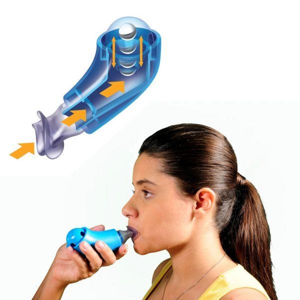 aparelho exercitador respirstório fisioterapia em guarapuava paraná